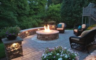 landscaping outdoor heating options
